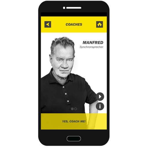 FIT STAR Beispiel: Audioguide in iPhone