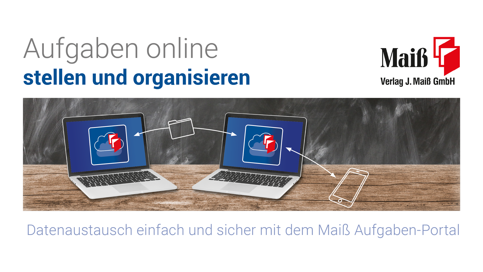 "Featured image for ""Homeschooling mit dem Maiß Aufgaben-Portal"""